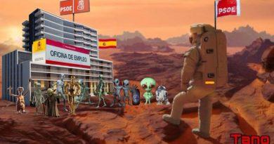 Ya la llaman los Marte al sol...
