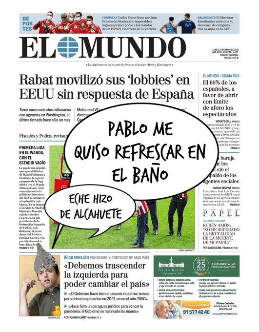 Errejón confiesa los motivos de su ruptura con Pablo Manué. Por Linda Galmor