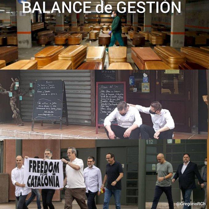 Balance en imágenes de la gestión socialista. Tuit de Gregorio Ramos