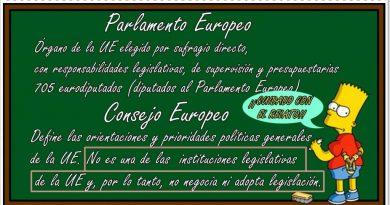 Cuidado con el relato. Tratan de confundirnos con el Consejo europeo. Por Rafael Gómez de Marcos