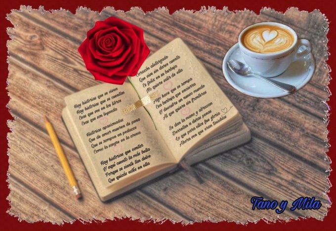 La más bella historia de amor. Ilustración de Tano