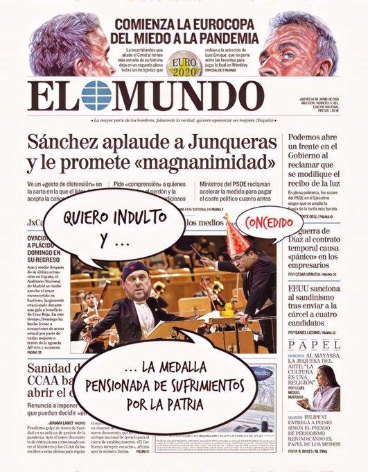 Los indepes quieren que España claudique y además con humillación. Por Linda Galmor