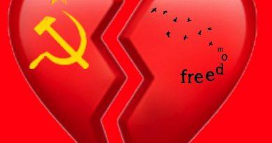 Mi amigo comunista y yo. Ilustración de Tano