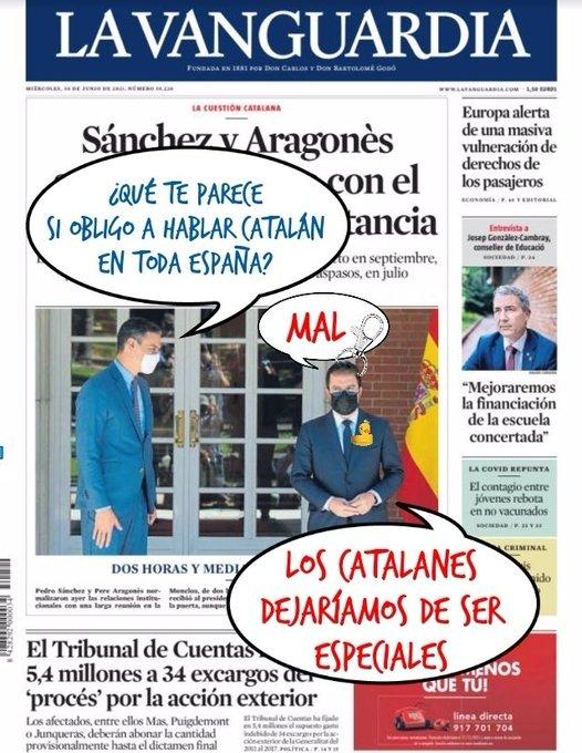 Sánchez explora nuevas concesiones para mantener a los catalufos en su banda