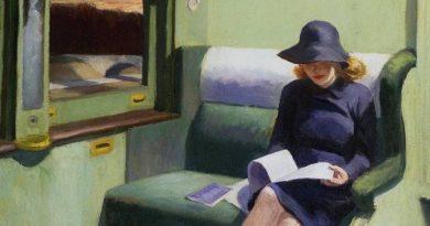 Viajes en el tiempo, en un tiempo de viajes. Edward Hopper, Cimpartimento C car 193