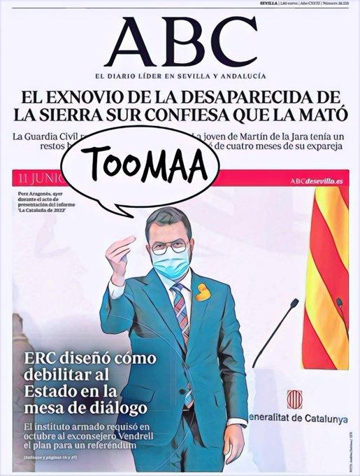 Sorpresa: los traidores a España siguen siendo traidores a España. Por Linda Galmor