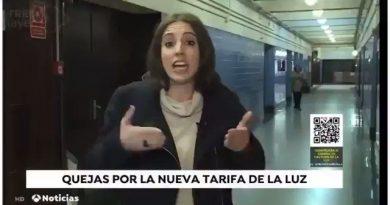 Irene Montero, nos explicas porqué ahora estás calladita como una puerta. Tuit de Astrid