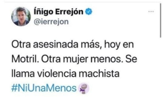 tuit de Errejón