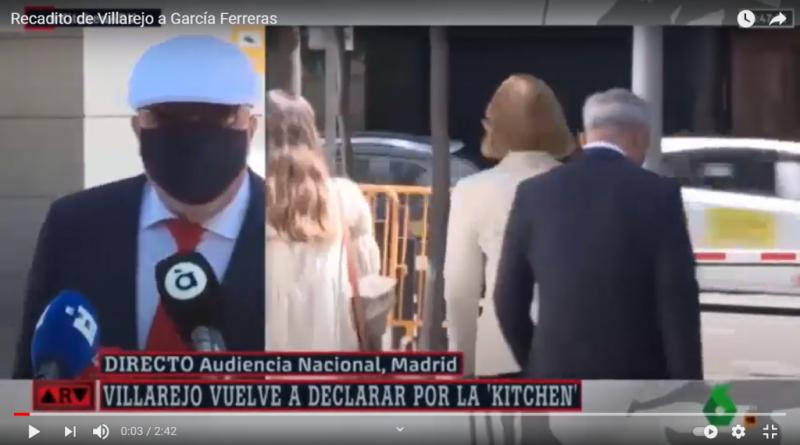Recadito de Villarejo a García Ferreras, el de los terroristas suicidas con tres capas de calzoncillos.