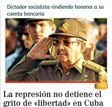 Protestas en la calle en el paraíso socialista cubano