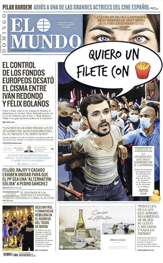 Qué fácil es ser comunista caviar en España. Por Linda Galmor