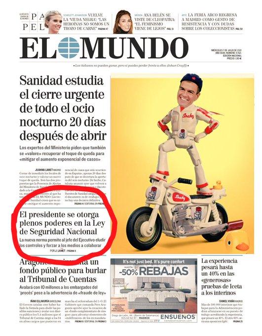 Sánchez apesta a dictadura. Sus aires estalinistas lo delatan. Por Linda Galmor