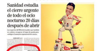 Sánchez apesta a dictadura. Sus aires estalinistas lo delatan