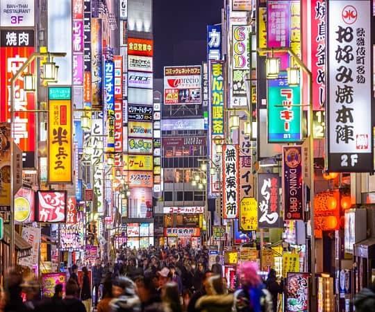 טיול מאורגן ליפן - טוקיו - JR