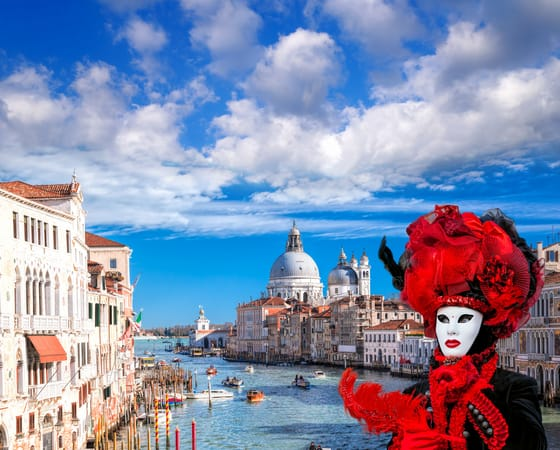 טיול מאורגן לאיטליה - ונציה - קרנבל המסכות - VC