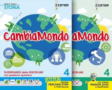 Cambiamondo 4 Storia Geografia