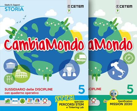 Cambiamondo 5 Storia Geografia