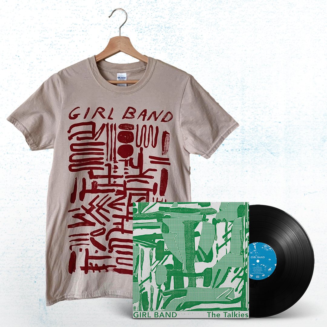 The Talkies Tshirt + Vinyl Bundle €32 + P&P – SOLD OUT