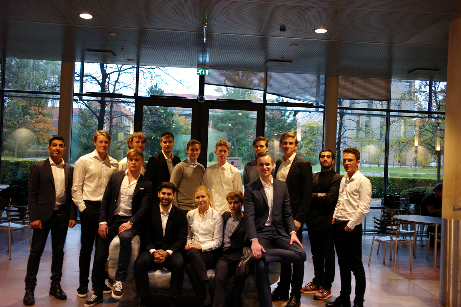 The team behind CFO Insights is made up of 20 students.