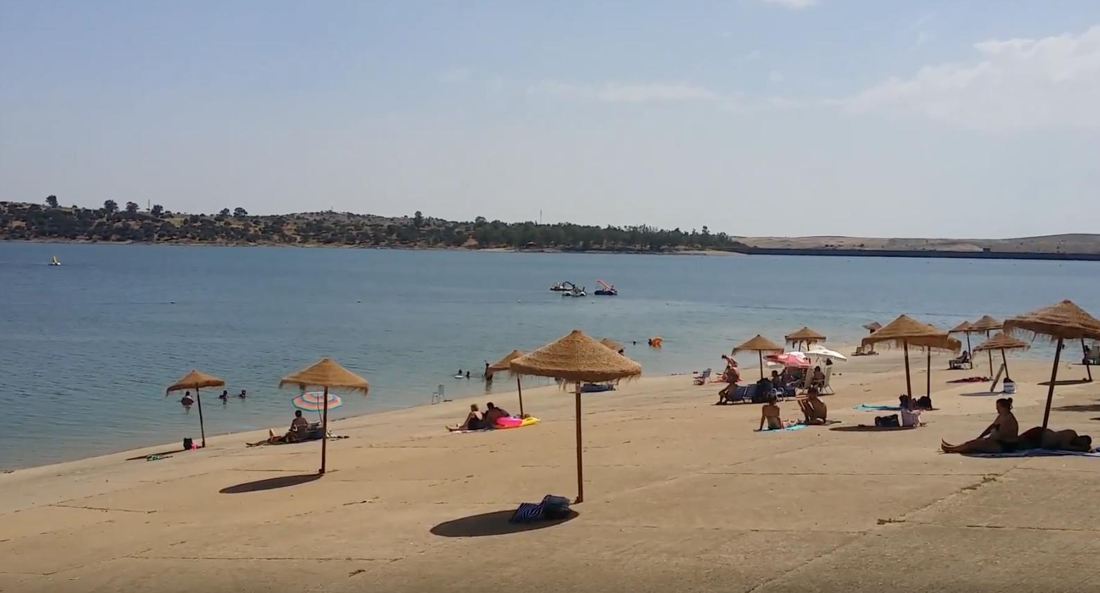Playa orellana la vieja
