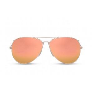 Pilotenbril Oranje Spiegelglazen
