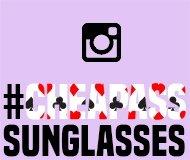 Zonnebrillen op Instagram