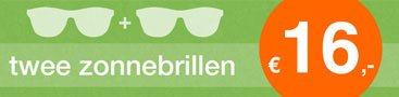 Zonnebrillen stapelkorting