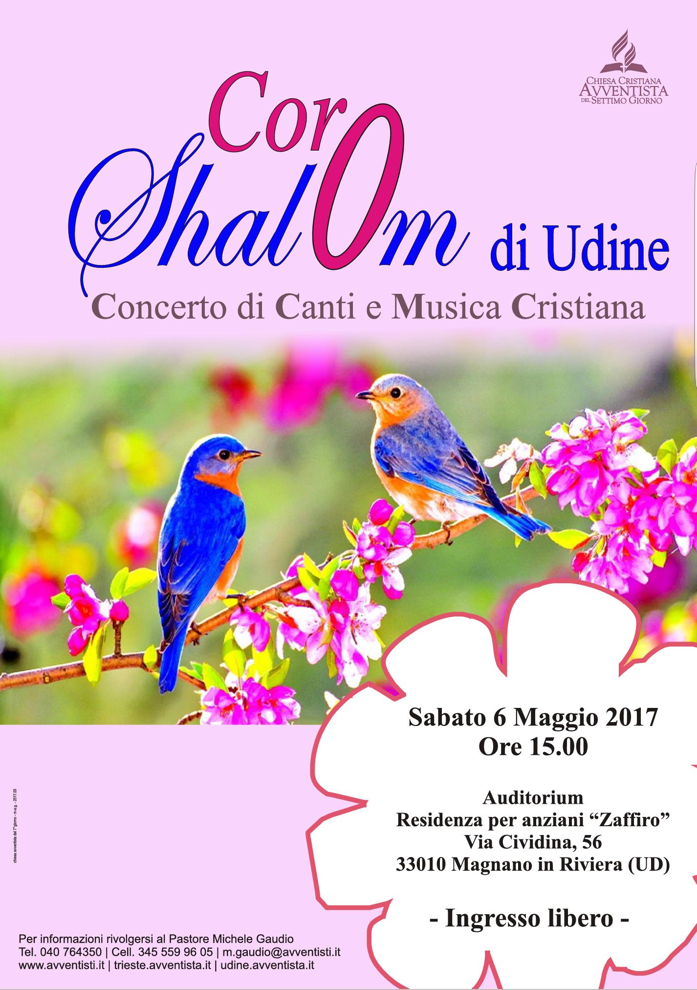 Udine. Concerto di Canti e Musica Cristiana