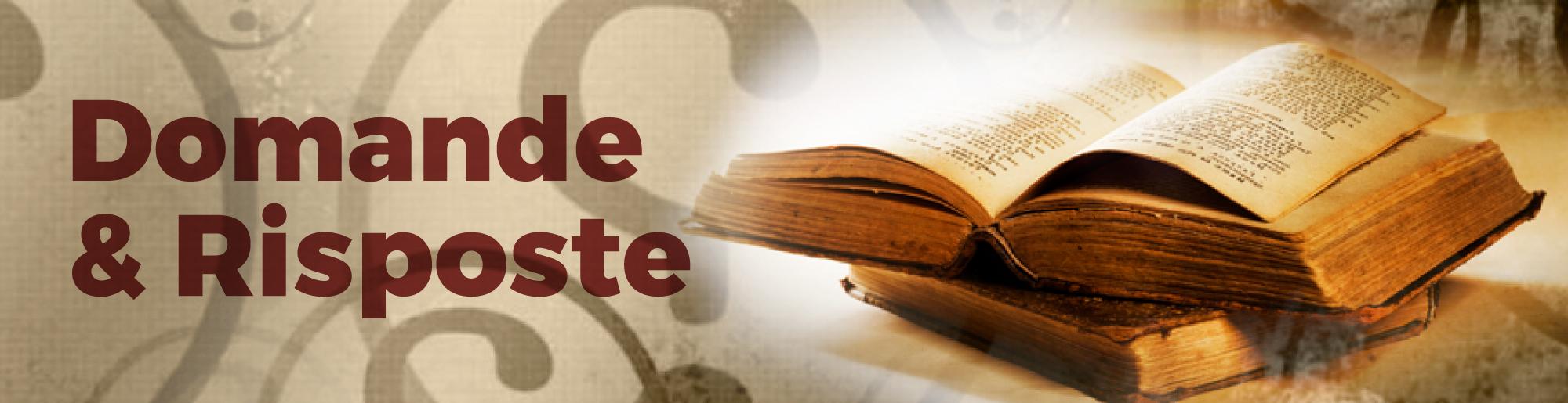 Domande & Risposte: LO SPIRITO SANTO