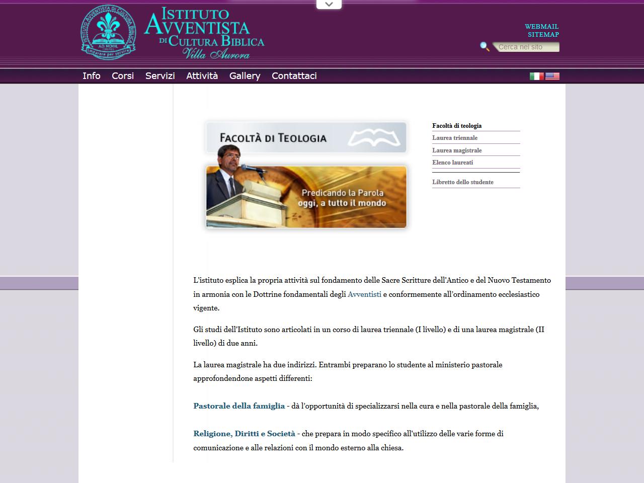 Villa Aurora – Facoltà Di Teologia