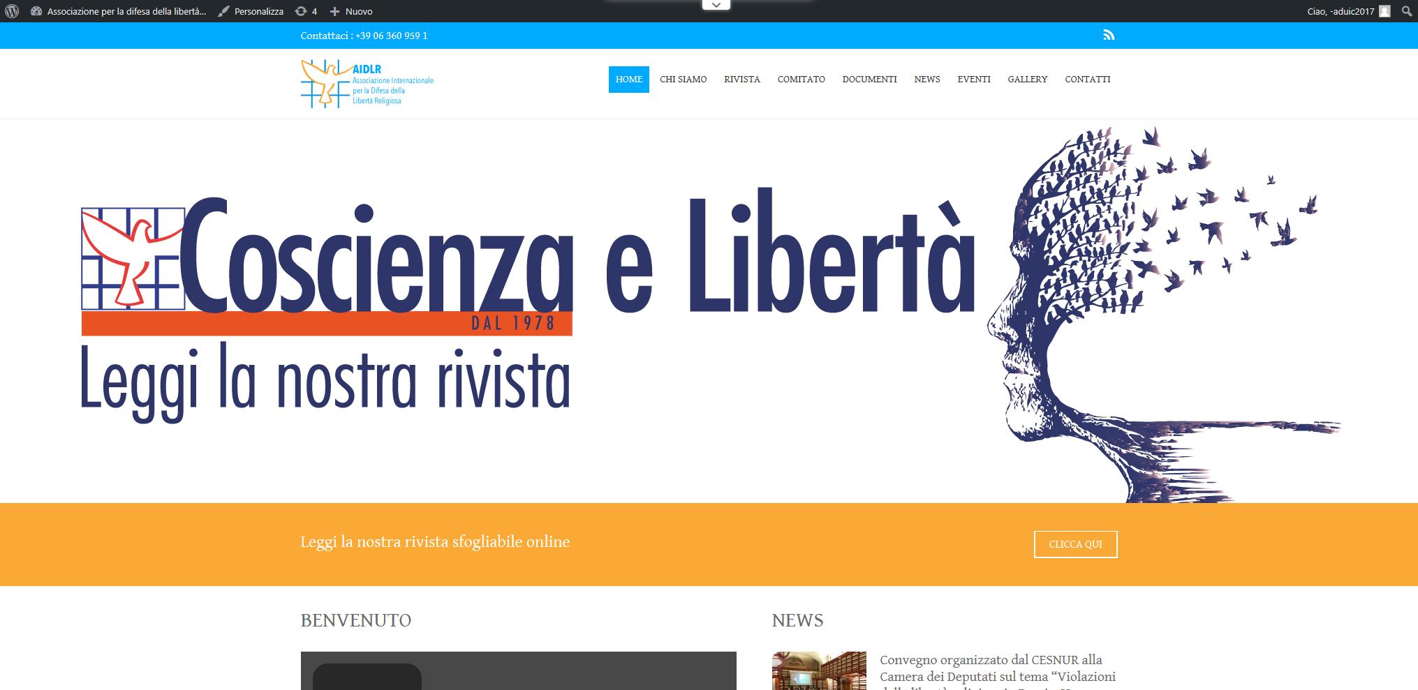 Associazione Internazionale Per La Difesa Della Libertà Religiosa