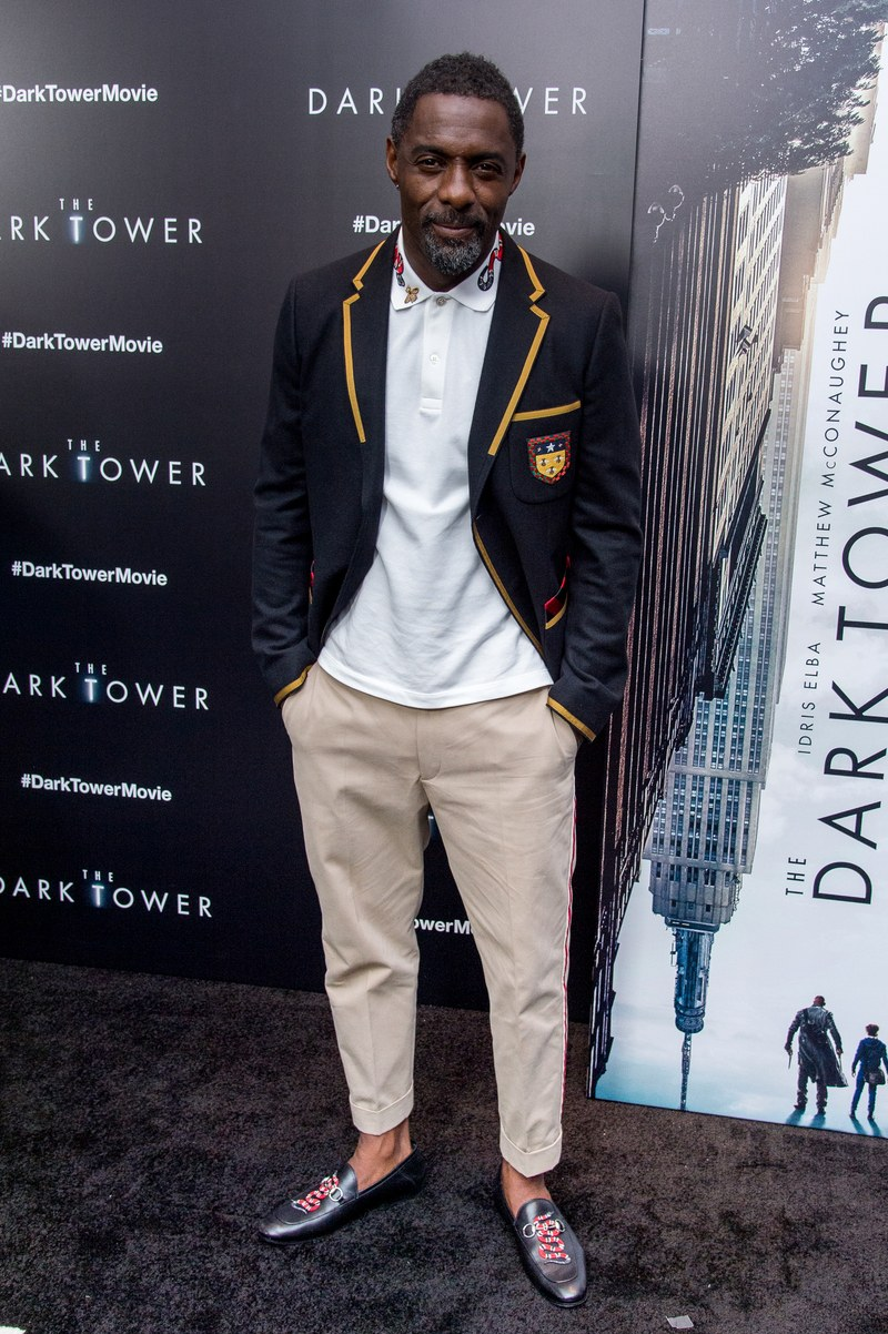 Cheryl Konteh Styles Idris Elba For Gq Magazine And Polo