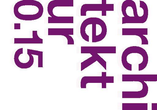 Logo Architektur 2015