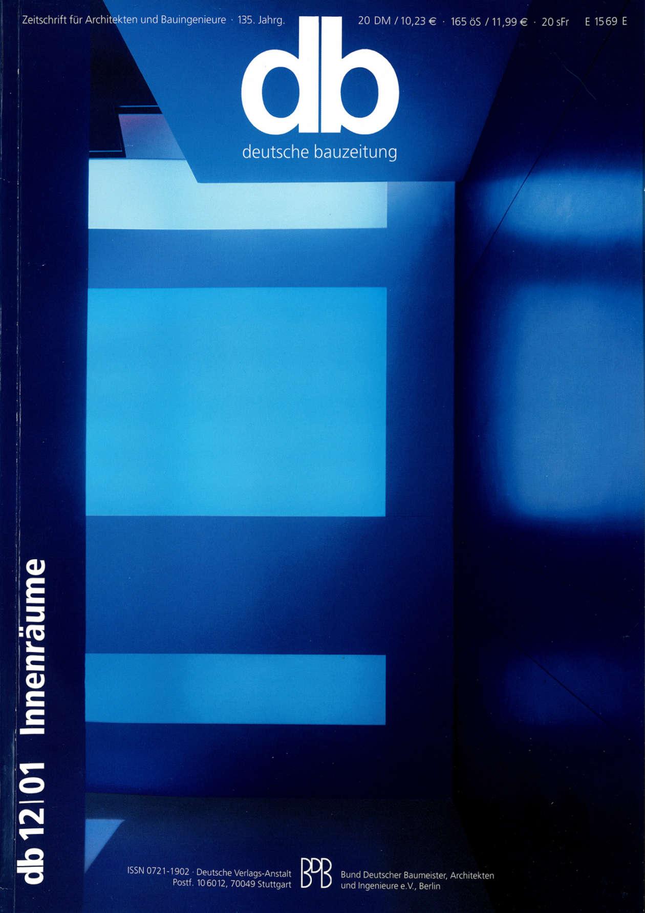 Db Deutsche Bauzeitung 01