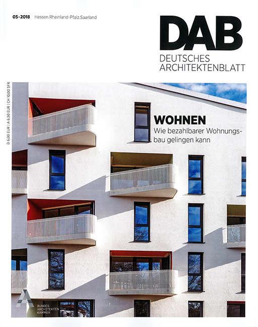 Deutsches Architektenblatt 01