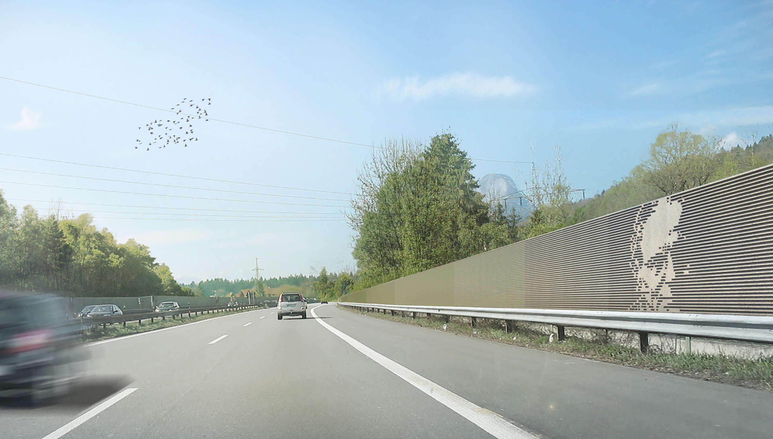 Laermschutzwand Asfinag Niederoesterreich 02