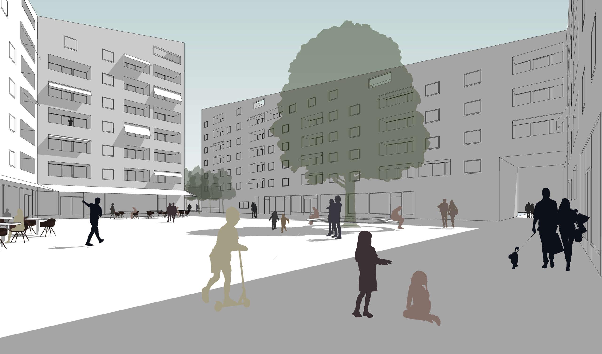 Wohnquartier Am Buergerhaus Mainz Kostheim Visualisierung Lead Image Beschnitten