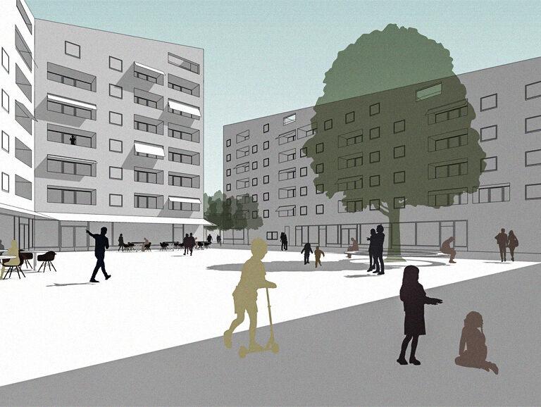 Wohnquartier Am Buergerhaus Mainz Kostheim Visualisierung Cover Test