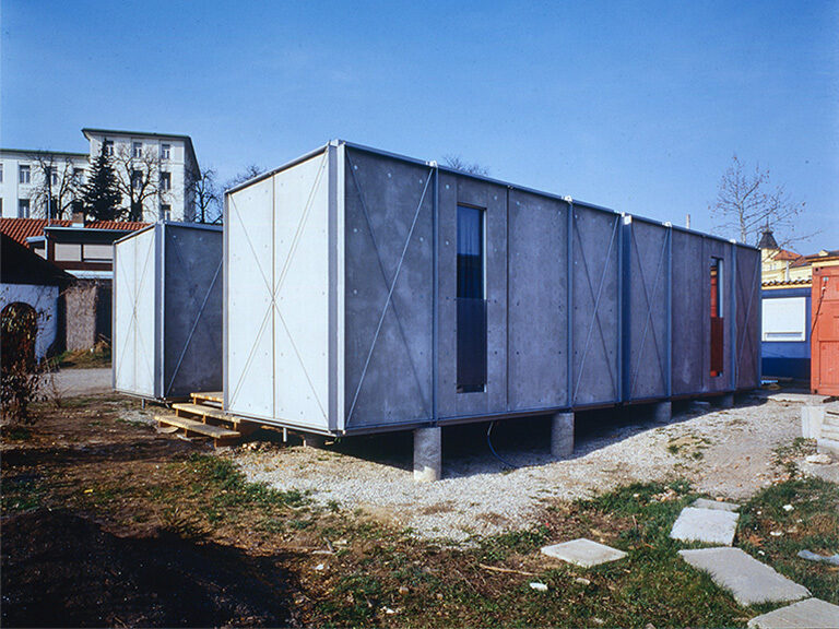 Notwohnhaus Vinzidorf Graz 01