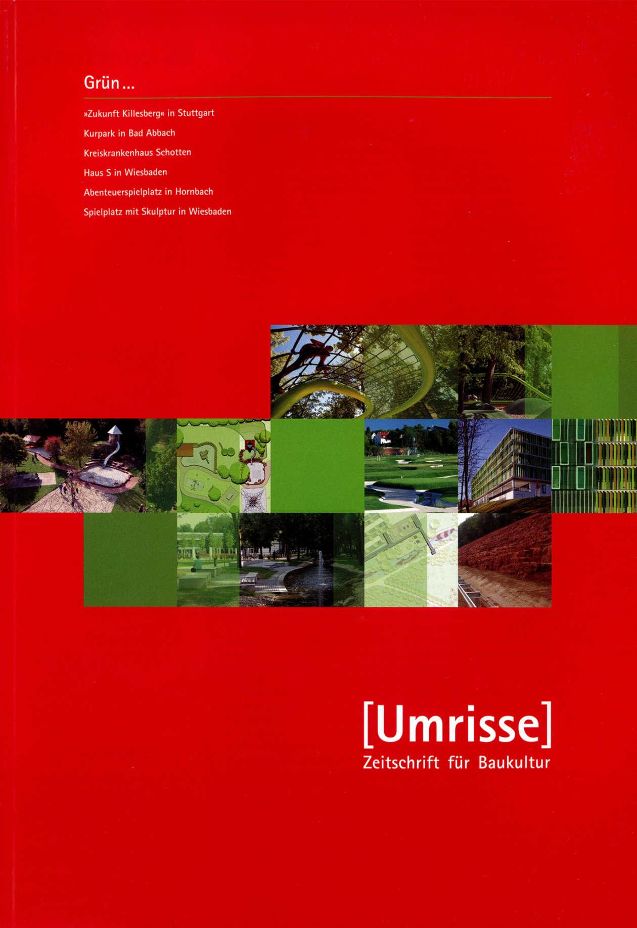 Umrisse Zeitschrift Fuer Baukultur 01