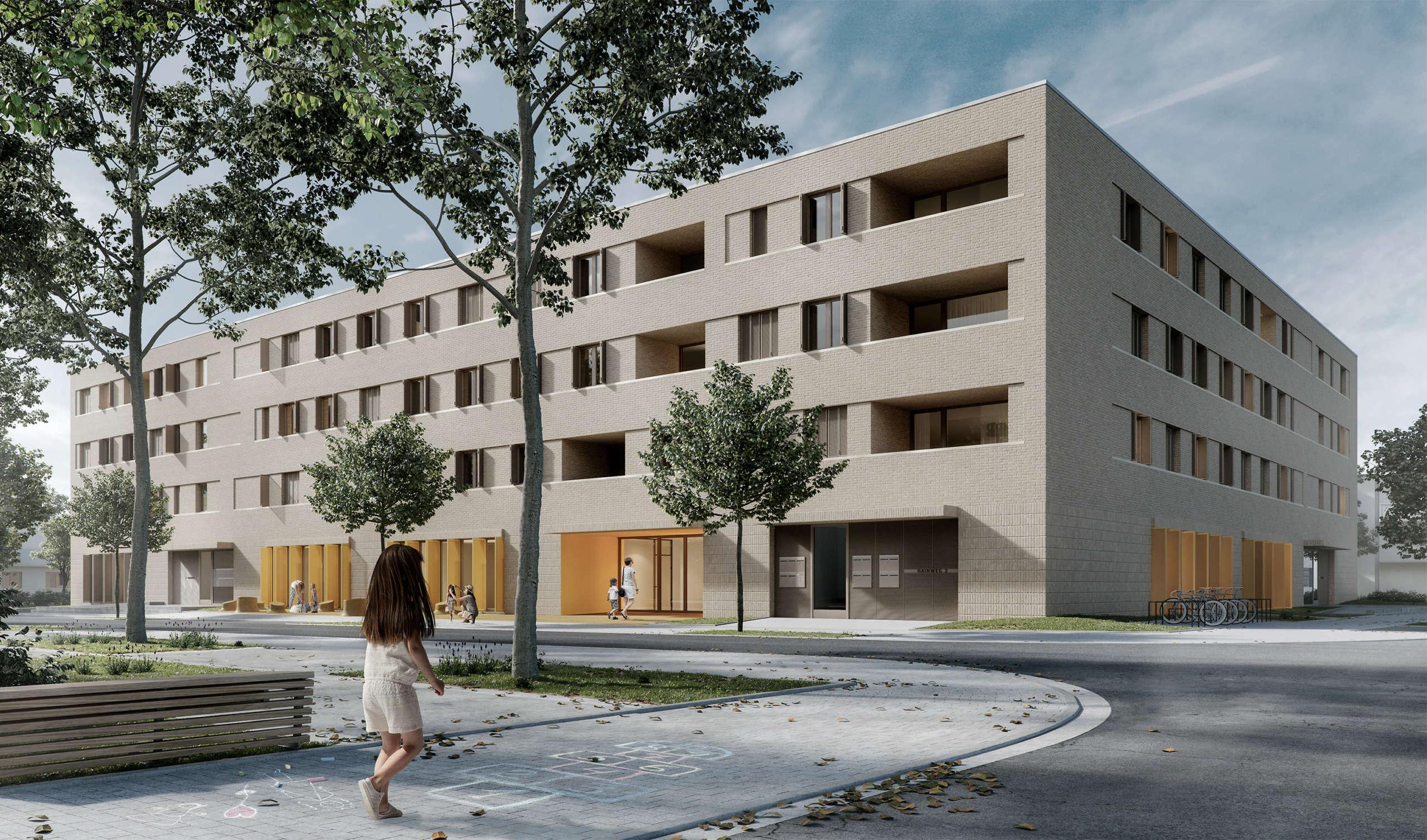 Wohnbau Und Kindertagesstaette Am Hainweg 01