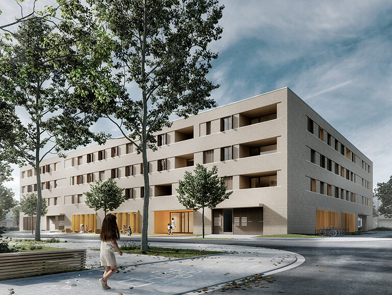 Wohnbau Und Kindertagesstaette Am Hainweg Cover