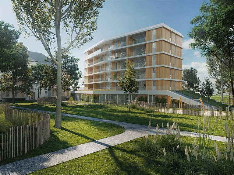 Wohnbau Und Kindertagesstaette Kastel Housing Cover Image