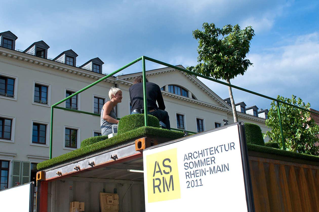Ausstellungscontainer Wiesbaden 13