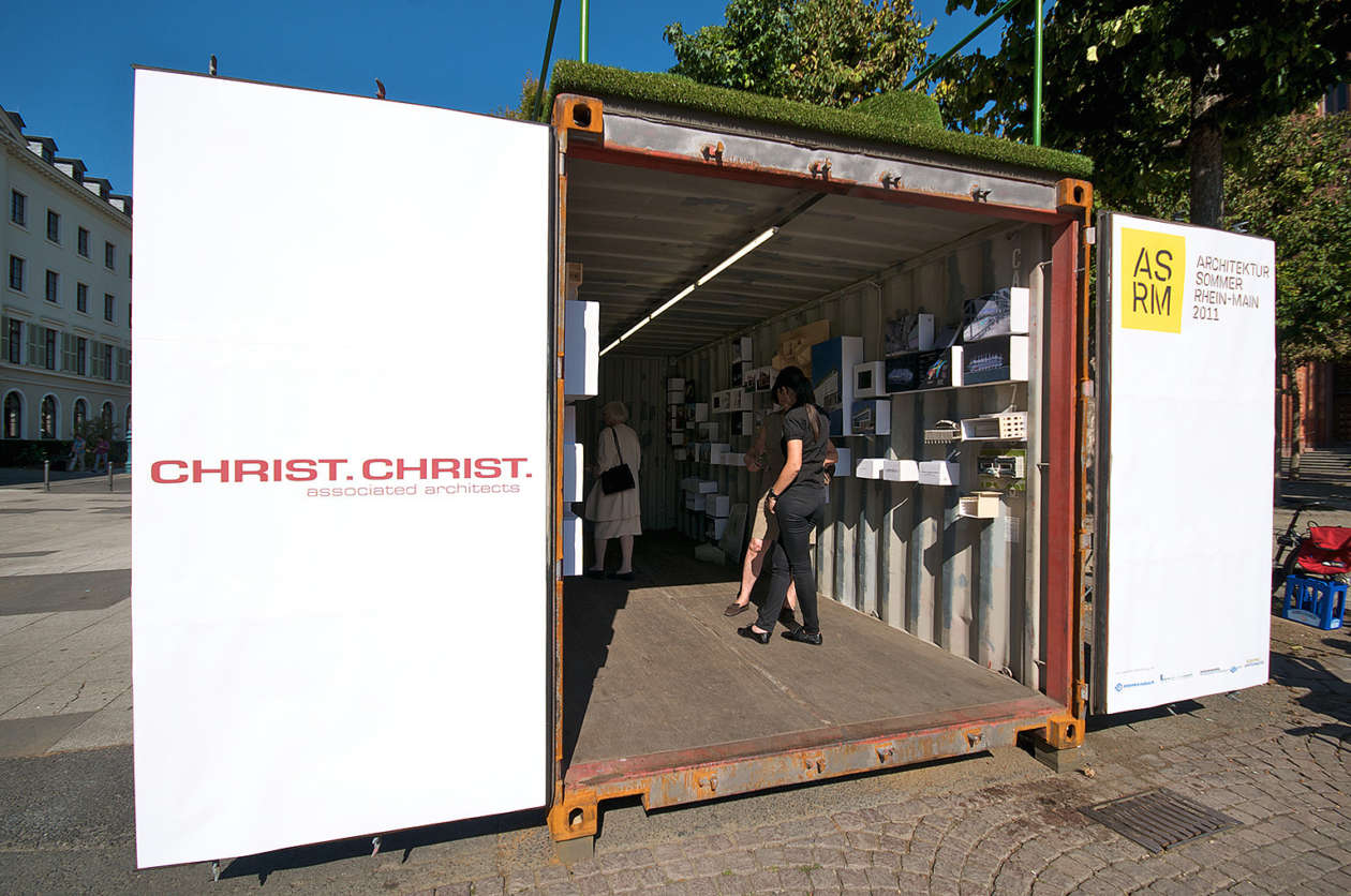 Ausstellungscontainer Wiesbaden 14