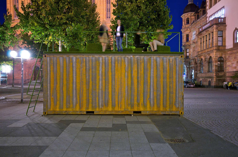 Ausstellungscontainer Wiesbaden 15