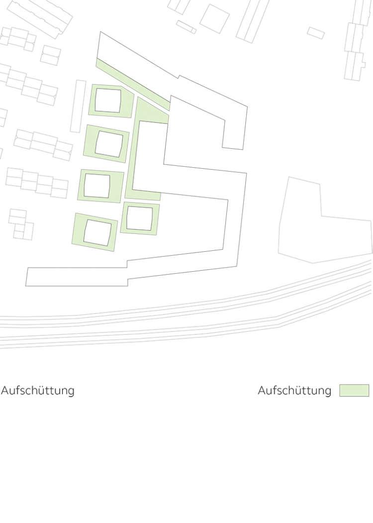 Wohnquartier Am Buergerhaus Mainz Kostheim Piktogramm Aufschuettung