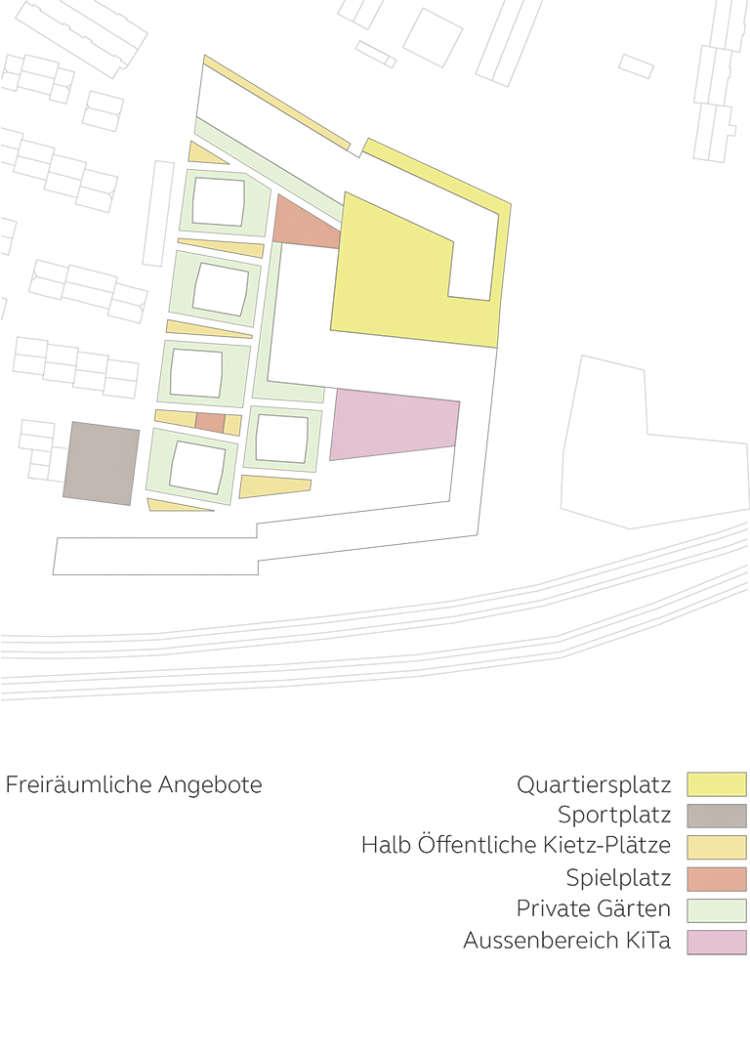 Wohnquartier Am Buergerhaus Mainz Kostheim Piktogramm Freiraeumliche Angebote