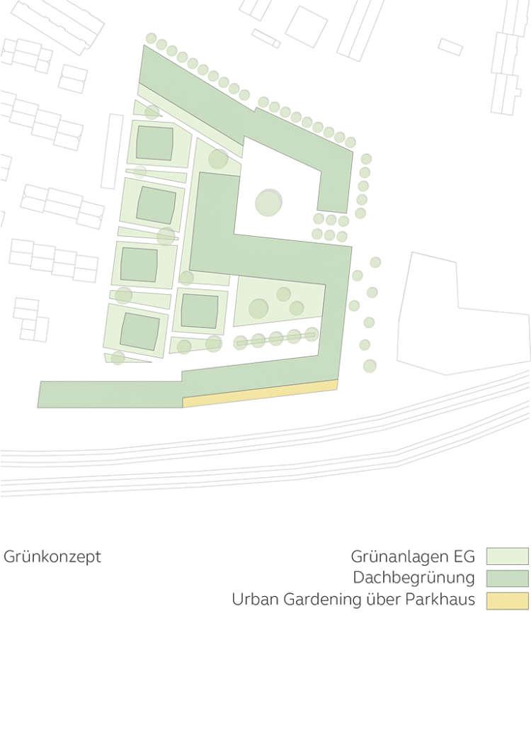 Wohnquartier Am Buergerhaus Mainz Kostheim Piktogramm Gruenkonzept