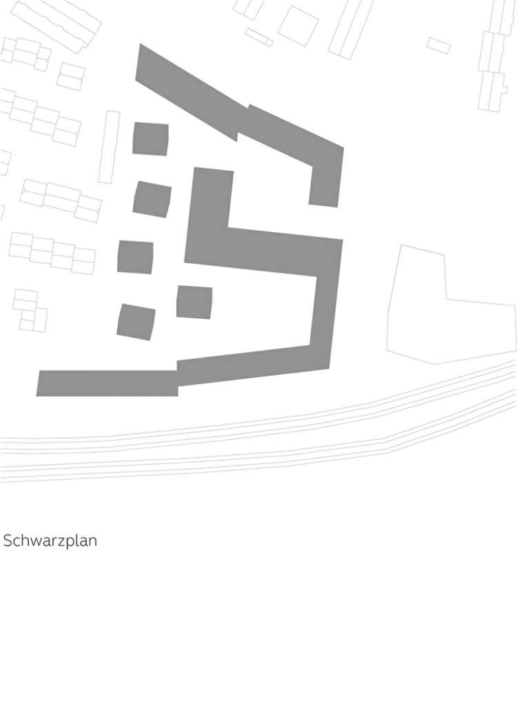 Wohnquartier Am Buergerhaus Mainz Kostheim Piktogramm Schwarzplan